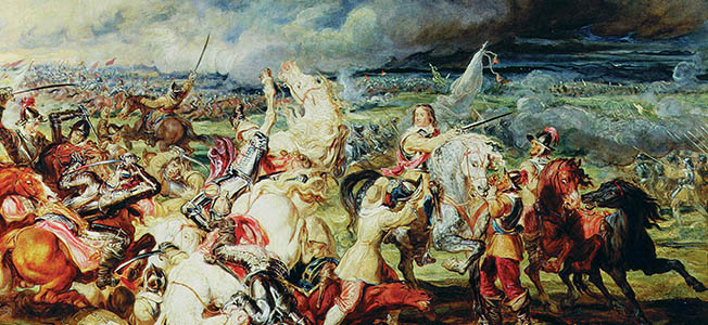 Because of the calamity that had befallen his family during the Thirty Years War, Prince Rupert would lead a life of exile and master the art of war.