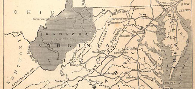 Upon separating from Virginia in the early years of the American Civil War, West Virginia became the only state to ever secede from a Confederate territory.