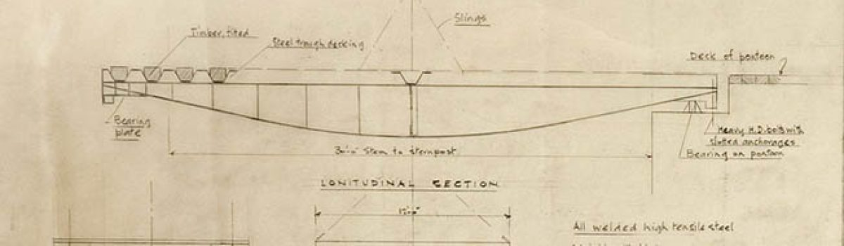 "Sketches of D-Day's ""Mulberry Harbours"" on Auction"