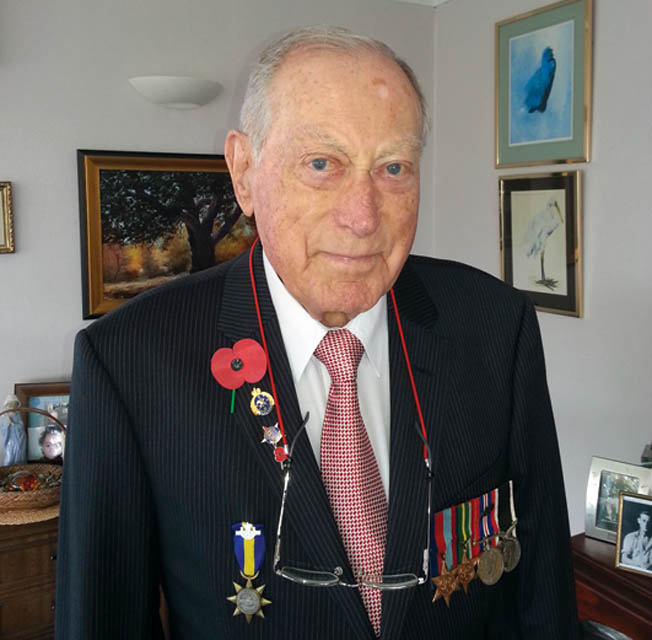 Coastwatcher veteran John Jones smiles in a recent photo.