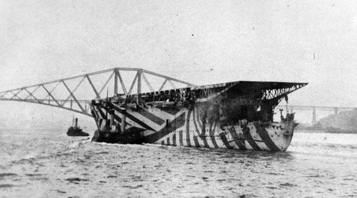 ww1 aircraft carrier