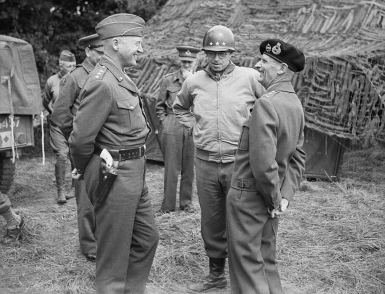 General Patton and General Montgomery