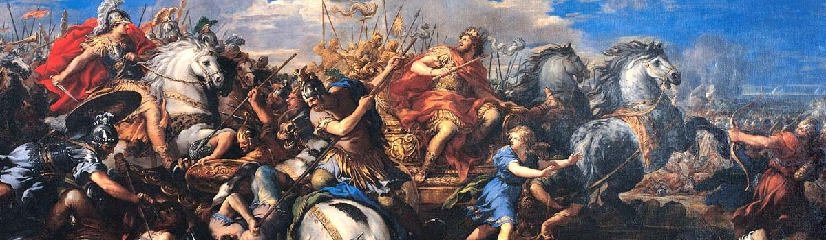 The Battle of Gaugamela: Alexander the Great vs. Darius III