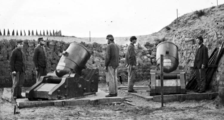 Civil War mortars