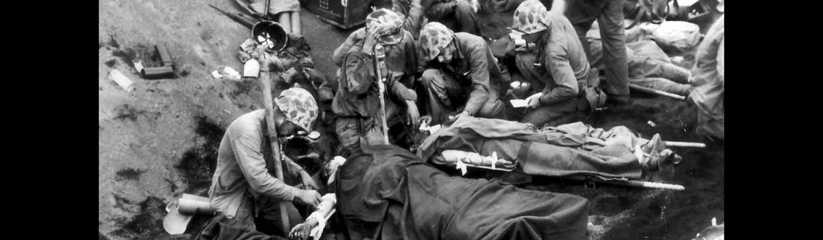 World War 2 Casualties & Caring for the Wounded