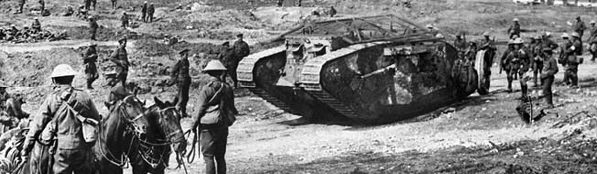 The Mark IV Tank: Why the British War Machine Became so Iconic