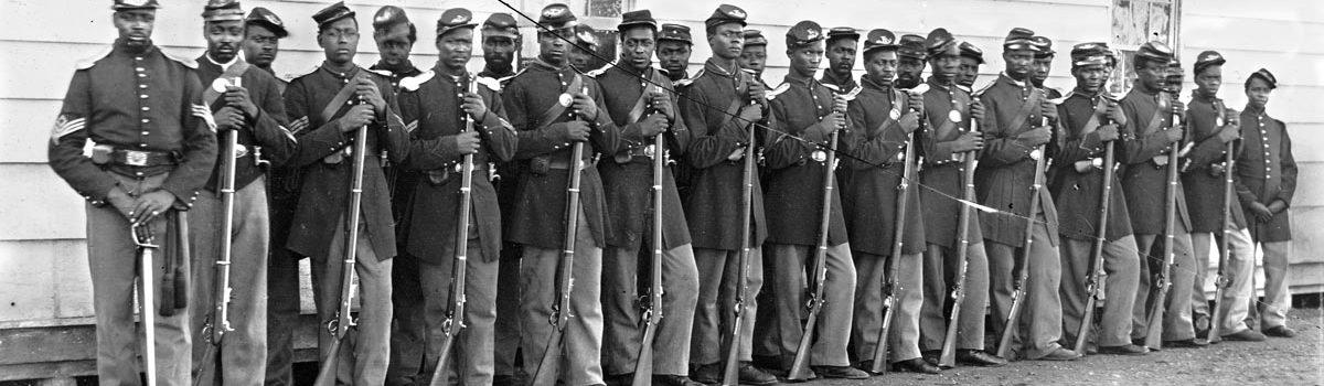 Black Soldiers, Blue Uniforms