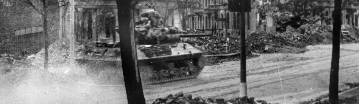 The Battle of Aachen: Breaking Down the Door to Europe in WWII