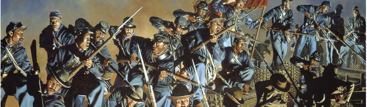 One Gallant Rush: Black Soldiers at Fort Wagner