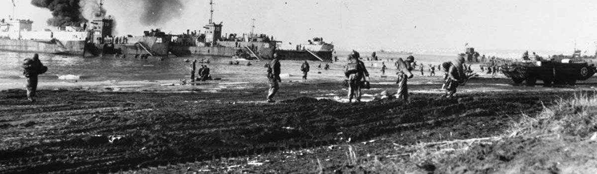 Amphibious Landing at Anzio