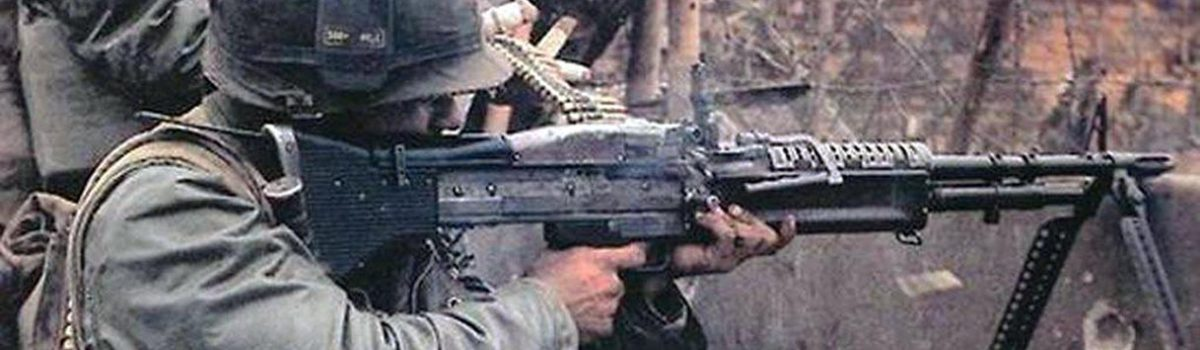 The M60 Machine Gun in the Vietnam War