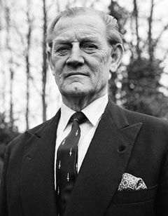 Churchill in later years.