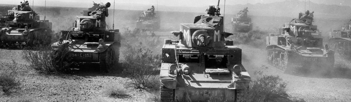 Commanding Patton's Personal Tanks