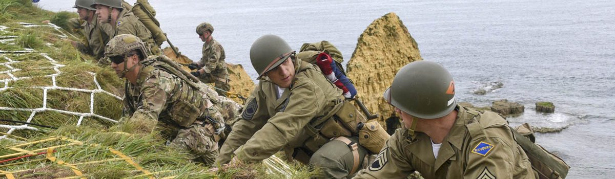 Outlandish D-Day Invasion Tales: A Hard Start for Rudder's Rangers