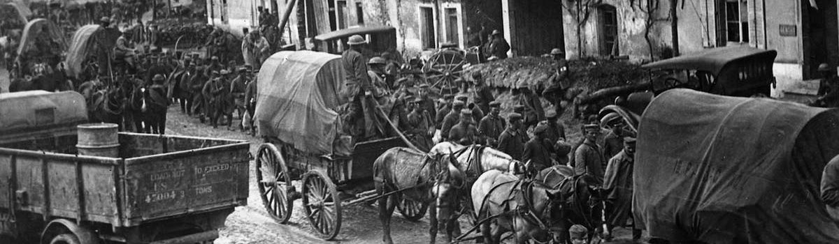 World War I Western Front: General Pershing Pushes for Meuse-Argonne