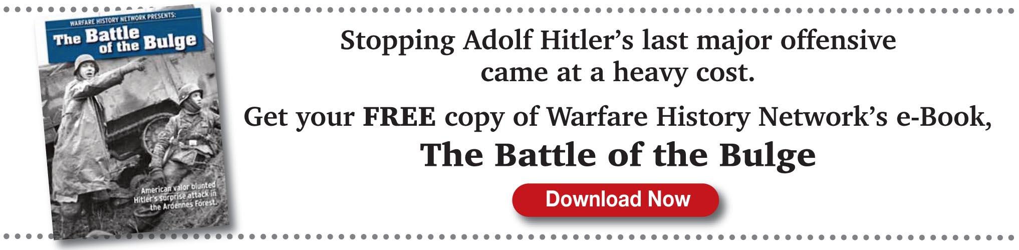 Battle of the Bulge free e-book