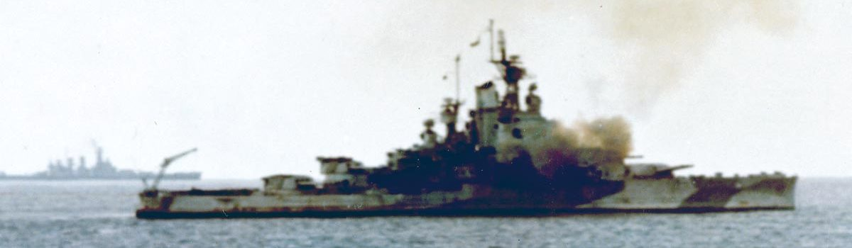 USS Nevada's Run to the Sea