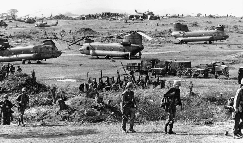 Camp Radcliffe near An Khe Vietnam