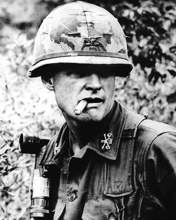 Hal Moore at the Battle of Ia Drang