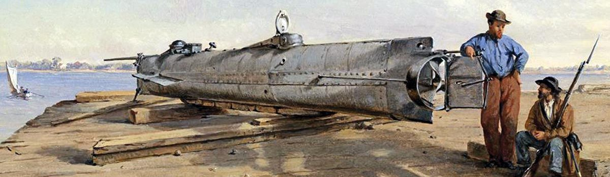 Weapons: Confederate Submarine H. L. Hunley