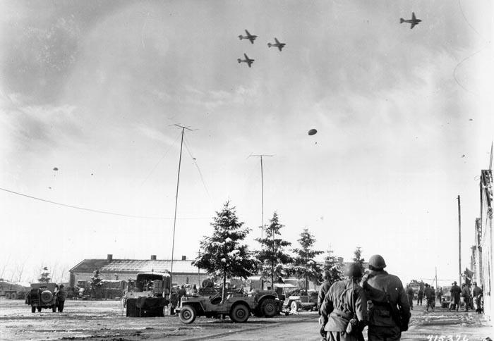 C-47s over Bastogne