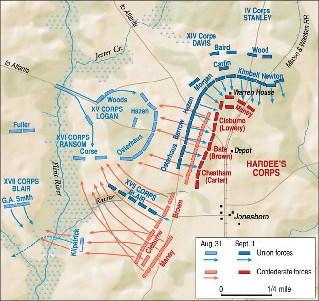 Battle of Jonesborough, Georgia