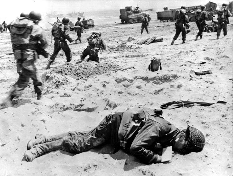 d-day landing at omaha beach
