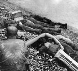 d-day ordeal at omaha beach