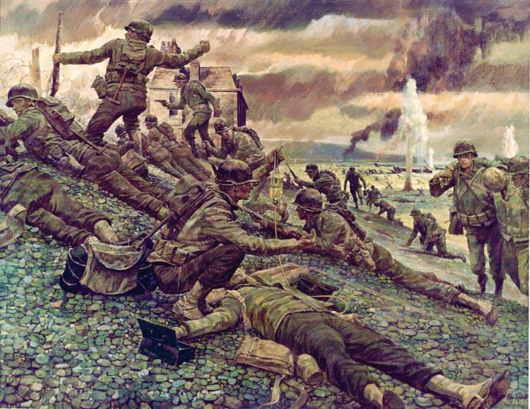 D-Day capture of Les Moulins