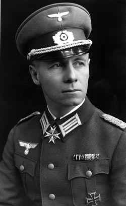 A photograph of Erwin Rommel in 1934.
