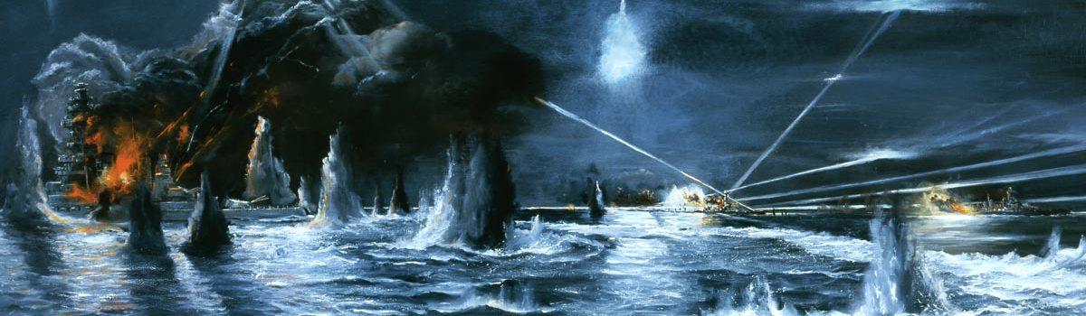 Night Battleship Action Off Guadalcanal