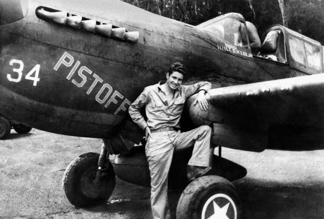 P-40 fighter pilot