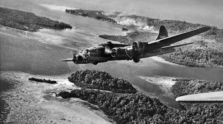 WWII skip bombing