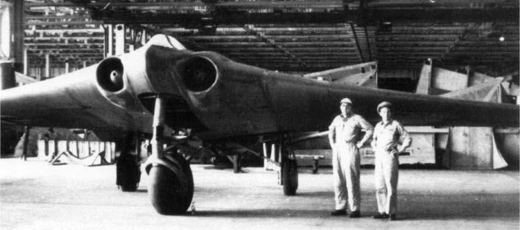 Ho-229 German jet bomber
