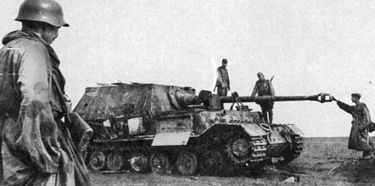 Ferdinand tank destroyer