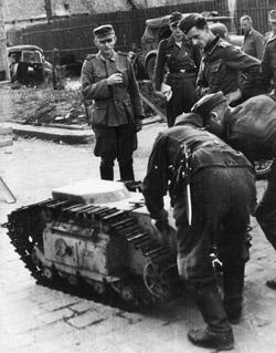 German Goliath mini-tank