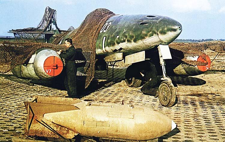 Me-262 German jet