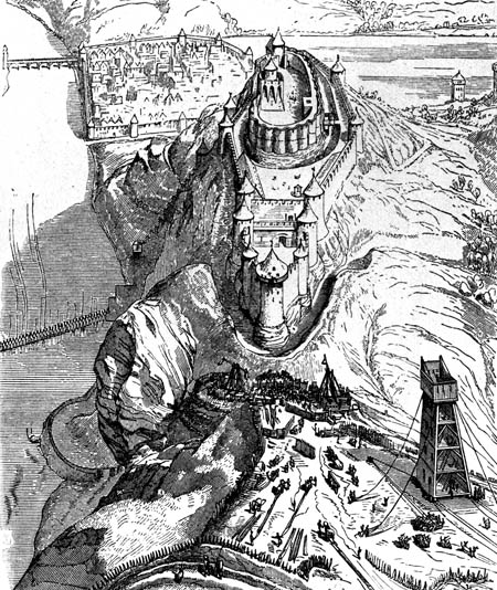 Richard I Chateau Gaillard