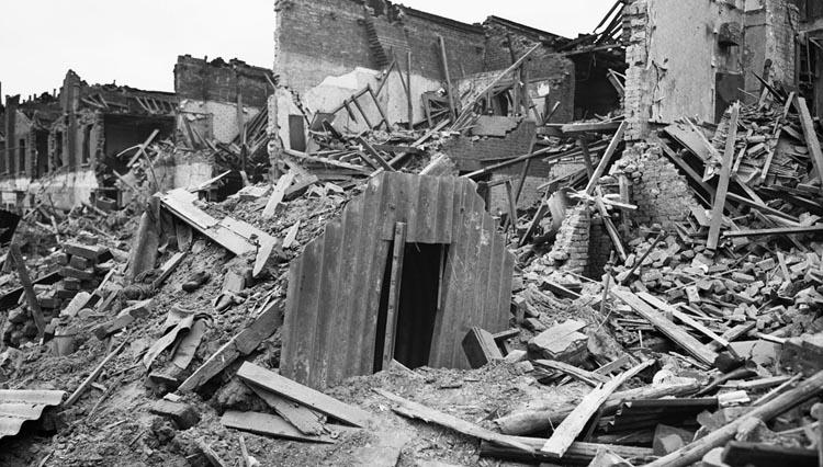 bombing of bath
