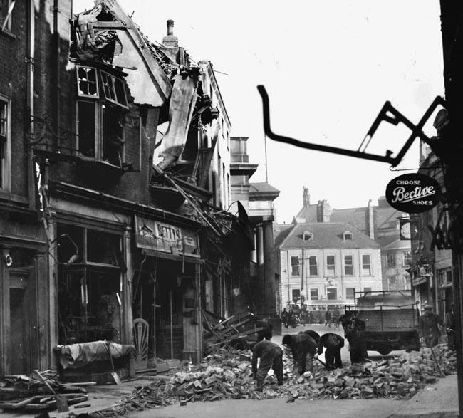 bombing of bath, england