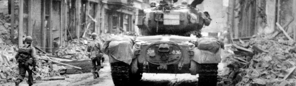 Clash of Heavy Tanks at Cologne