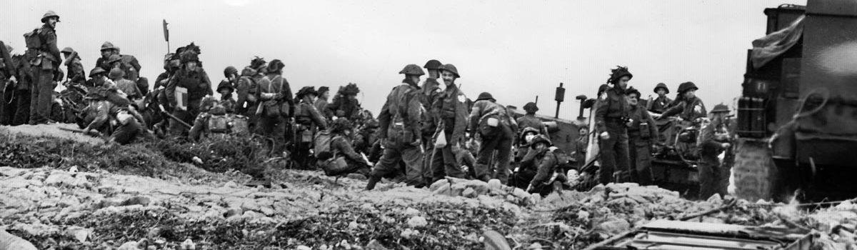 D-Day Assault on Juno Beach