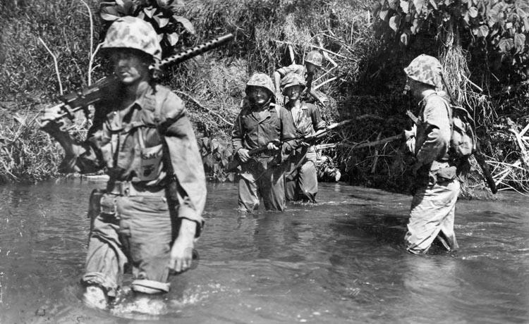 Mitchel Paige valor on Guadalcanal