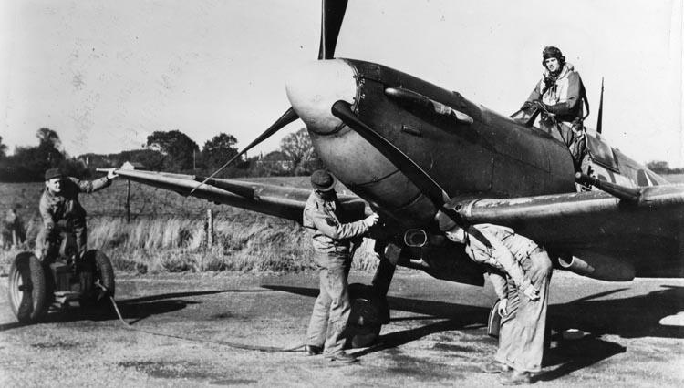 Eagle Squadron spitfire
