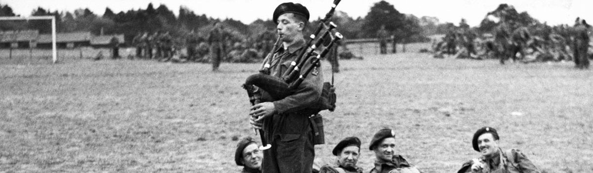 The Story of Bill Millin, Lord Lovat's Mad Piper of Sword Beach