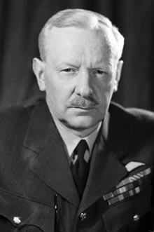 "British Air Chief Marshall Arthur ""Bomber"" Harris"