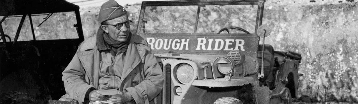 Teddy Roosevelt Junior: Steadying the Troops at Utah Beach