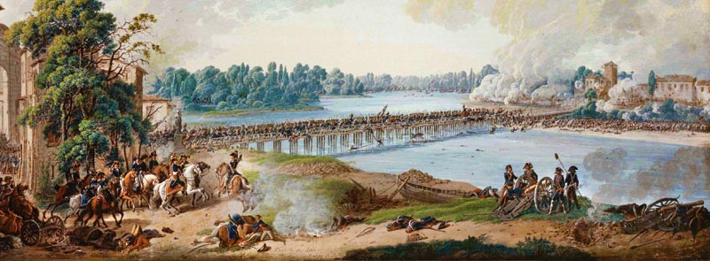 Napoleon's small victory over the Austrian rearguard at Lodi not only boosted the morale of his army, but also displayed his sound grasp of tactics.