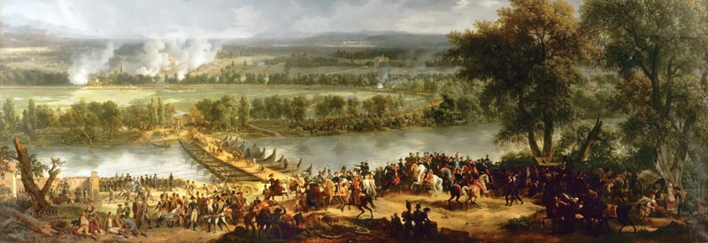 The Austrians proved capable of a stubborn defense at Arcole. The timely arrival of General Andre Massena's division ultimately dislodged the Hapsburg troops.