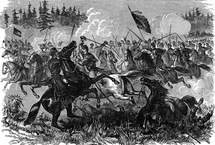 battle at Kelly's Ford